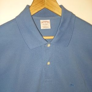 Brooks Brothers Performance Polo Blue Large